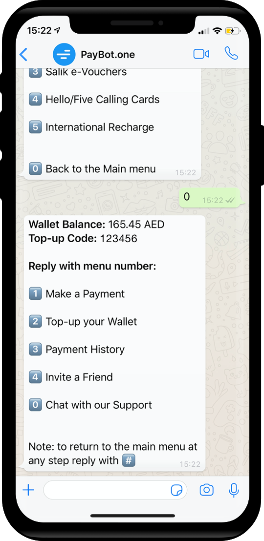 WhatsApp Worldwide Mobile Recharge